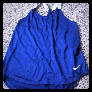 Nike women's workout tank shirt NWOT Size small
